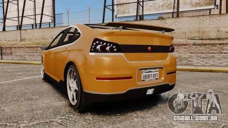 GTA V Cheval Surge para GTA 4 traseira esquerda vista