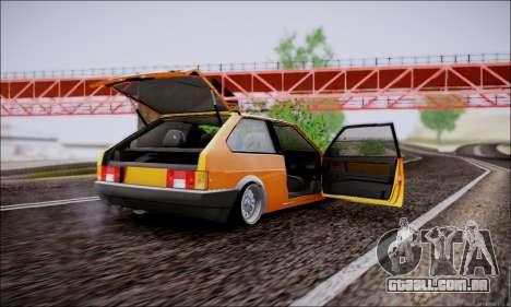 VAZ 21083 baixo clássico para GTA San Andreas vista interior