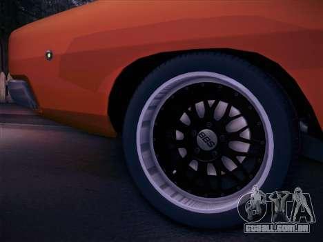 Dodge Charger RT V2 para GTA San Andreas vista direita