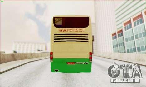 Marcopolo G6 Marozzi Autolinee para GTA San Andreas traseira esquerda vista