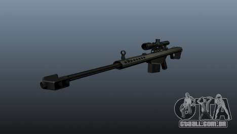 calibre. 50 sniper rifle para GTA 4