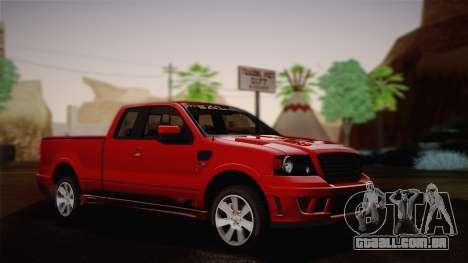 Saleen S331 Supercab 2008 para GTA San Andreas
