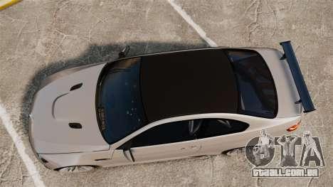 BMW M3 E92 GTS 2010 para GTA 4 vista direita