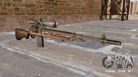 Rifle do sniper M21 para GTA 4