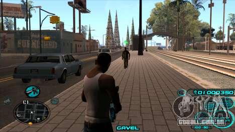 C-HUD Candy Project para GTA San Andreas segunda tela