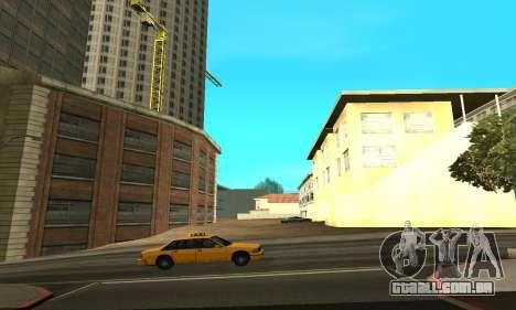 -Concluída a construção em San Fierro V1 para GTA San Andreas segunda tela