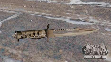 Alabama, uma faca de combate para GTA 4