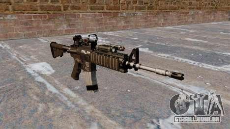 Automáticos carabina M4 Red Dot Black Edition para GTA 4