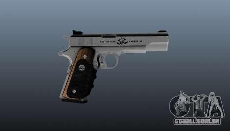A pistola semi-automática Hardballer AMT para GTA 4 terceira tela