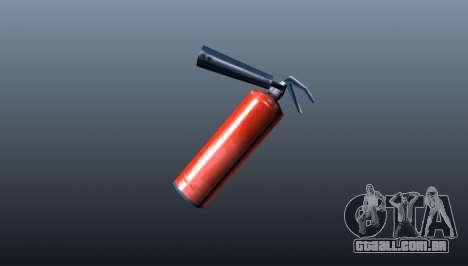 Extintor de incêndio para GTA 4 segundo screenshot
