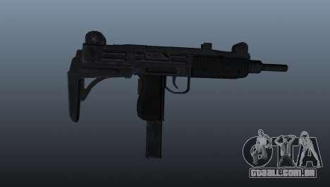 Pistola-metralhadora Uzi IMI para GTA 4 terceira tela