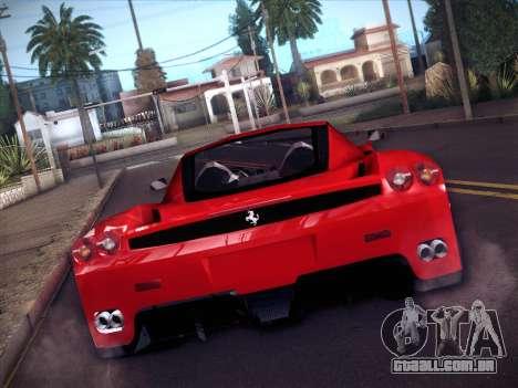 Ferrari Enzo 2003 para GTA San Andreas vista traseira