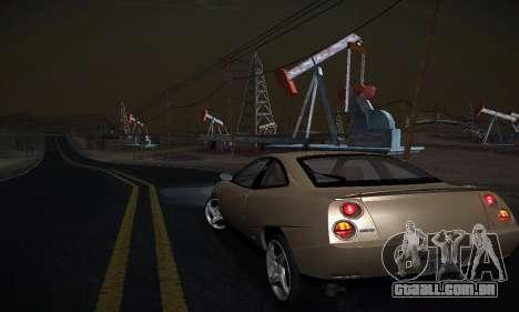 Fiat Coupe para GTA San Andreas traseira esquerda vista