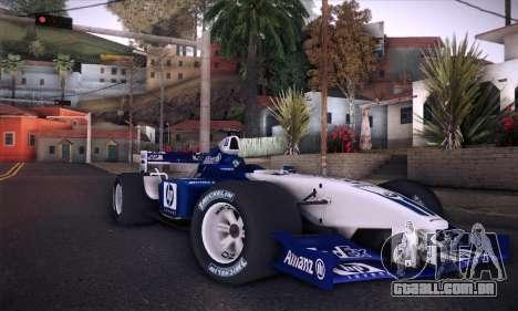 BMW Williams F1 para o motor de GTA San Andreas