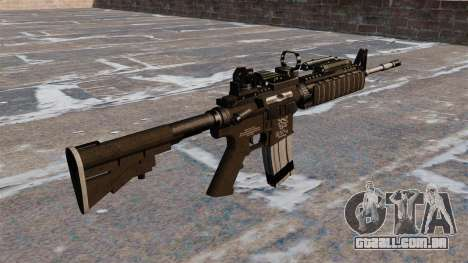 Automáticos carabina M4 Red Dot Black Edition para GTA 4 segundo screenshot