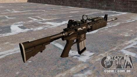 Automáticos carabina M4 Red Dot Black Edition para GTA 4 segundo screenshot