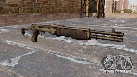 Franchi SPAS-12 shotgun Armageddon v 2.0 para GTA 4