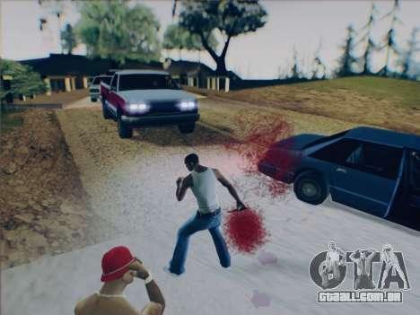 Battlefield 2142 Knife para GTA San Andreas quinto tela