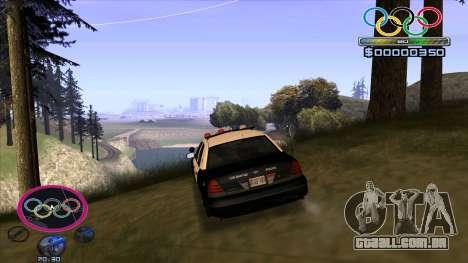 HUD Olympiade para GTA San Andreas terceira tela
