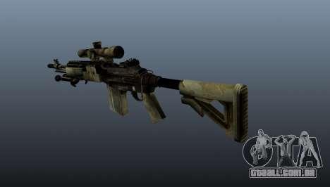 Rifle sniper M21 Mk14 v7 para GTA 4 segundo screenshot