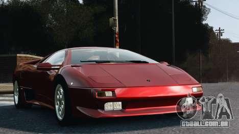 Lamborghini Diablo VT 1994 para GTA 4 traseira esquerda vista