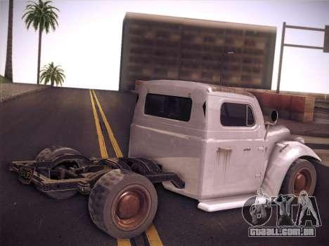 Rat Loader from GTA V para GTA San Andreas esquerda vista