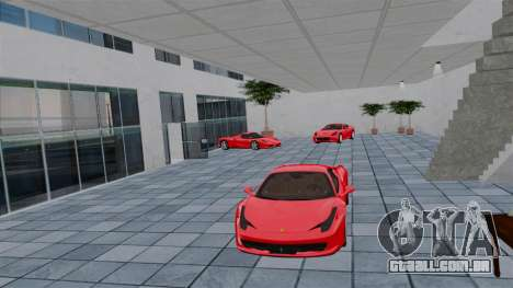 Ferrari Auto Show para GTA 4 quinto tela
