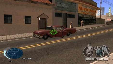 C-HUD Assasins Creed 3 III para GTA San Andreas segunda tela