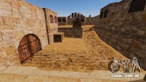 Localização de Counter-strike De_Dust2 para GTA 4 quinto tela