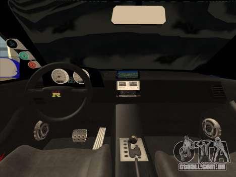 Nissan Skyline GTR para GTA San Andreas vista direita