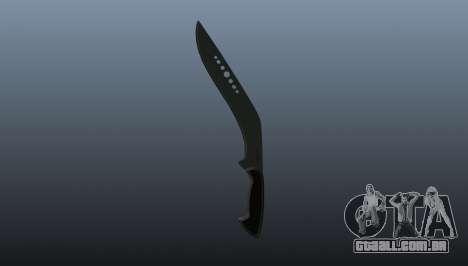 Lâmina kukri para GTA 4 segundo screenshot