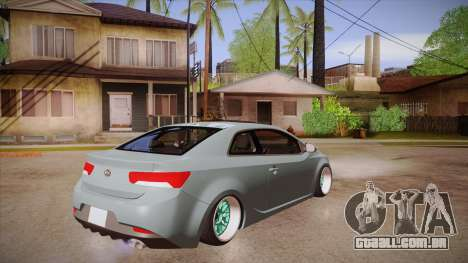 Kia Cerato para GTA San Andreas vista direita