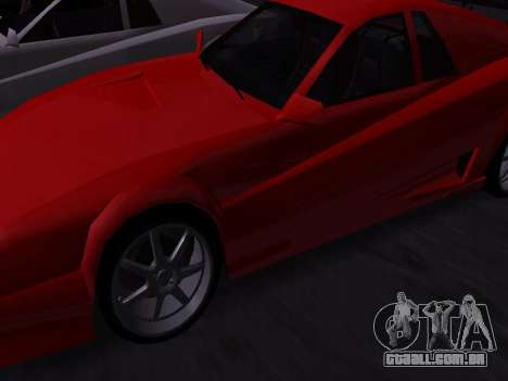 Sheetah Restyle para GTA San Andreas