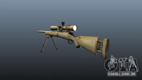 O M24 sniper rifle para GTA 4 segundo screenshot