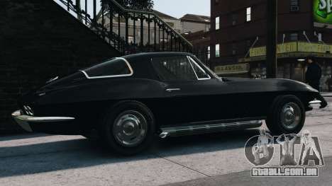 Chevrolet Corvette Stingray 427 1967 para GTA 4 esquerda vista