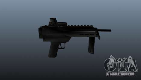 Pistola-metralhadora em Half-Life para GTA 4 terceira tela
