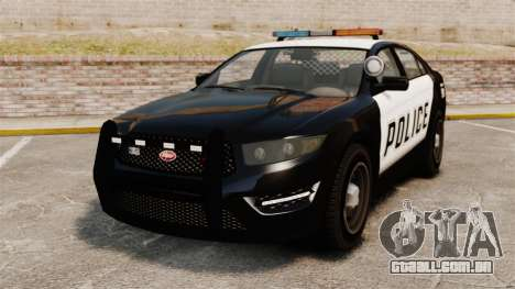 GTA V Vapid Police Interceptor para GTA 4