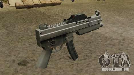 Pistola-metralhadora MP5 atualizada para GTA 4 segundo screenshot