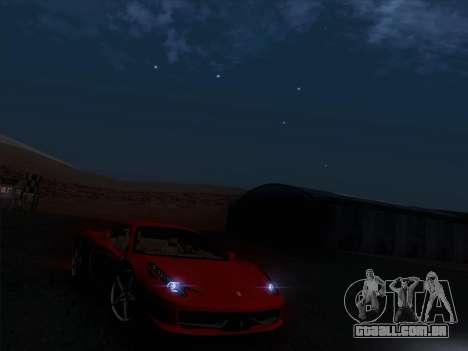Ferrari 458 Italia 2010 para GTA San Andreas vista traseira