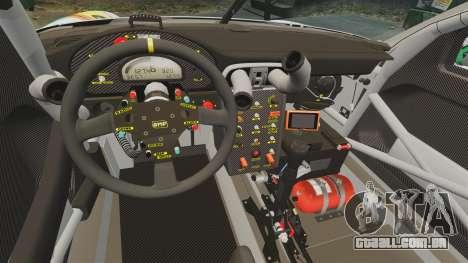 Porsche GT3 RSR 2008 Hatsune Miku para GTA 4 vista interior
