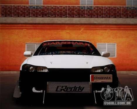 Nissan Silvia S15 JDM para GTA San Andreas vista direita