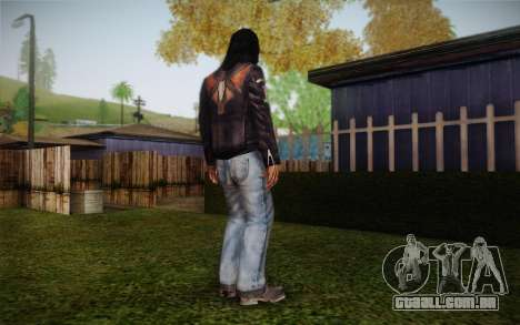 Tommy motociclista de presas para GTA San Andreas segunda tela