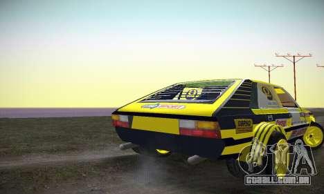 FSO Polonez 2500 Racing 1978 para GTA San Andreas vista direita