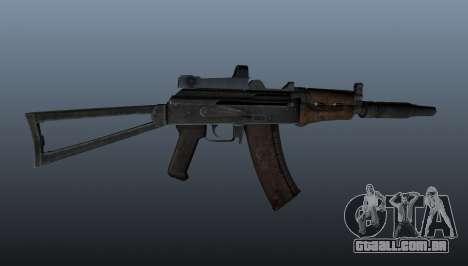 AKS74U automático para GTA 4 terceira tela