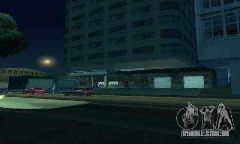 -Concluída a construção em San Fierro V1 para GTA San Andreas oitavo tela