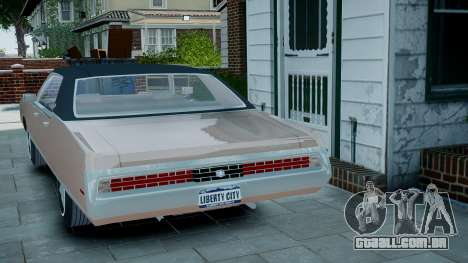 Chrysler New Yorker 1971 para GTA 4 esquerda vista