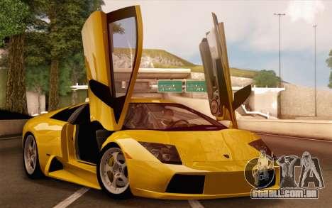 Lamborghini Murciélago 2005 para o motor de GTA San Andreas