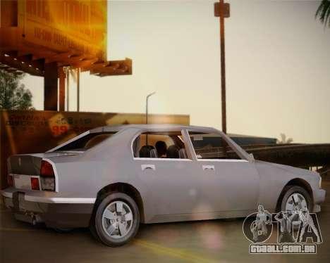 GTA III Kuruma para GTA San Andreas esquerda vista