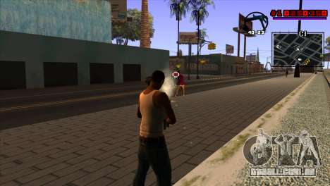 C-HUD Project Capture 6 para GTA San Andreas terceira tela