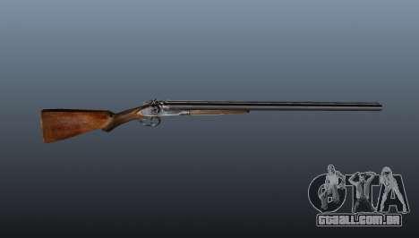 Rifle de caça TOZ cano duplo BM-16 para GTA 4 terceira tela